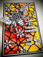 PaperArtsy Mounted Rubber Stamp Set - Tracy Scott 59 - TS059